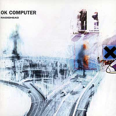 The album art for Radiohead's OK Computer