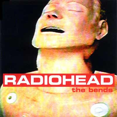 The album art for Radiohead's The Bends