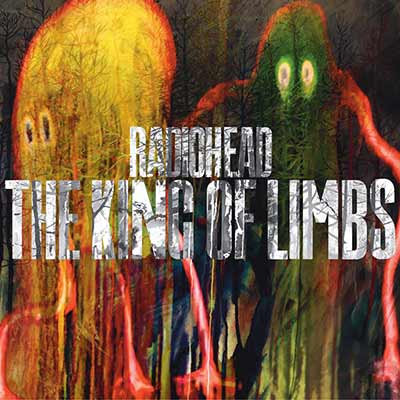 The album art for Radiohead's The King of Limbs