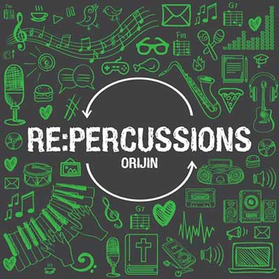 The album art for Orijin's Re:Percussions