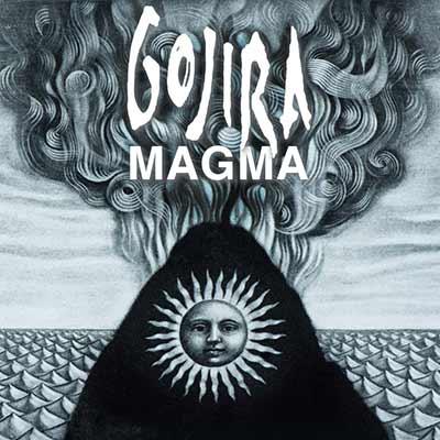 The album art for Gojira's Magma
