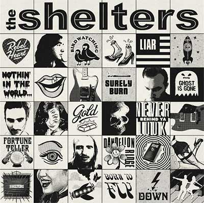 The album art for The Shelters' self-titled debut album