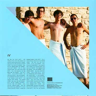 The album art for BADBADNOTGOOD's IV