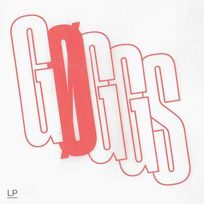 The album art for GØGGS' self-titled debut