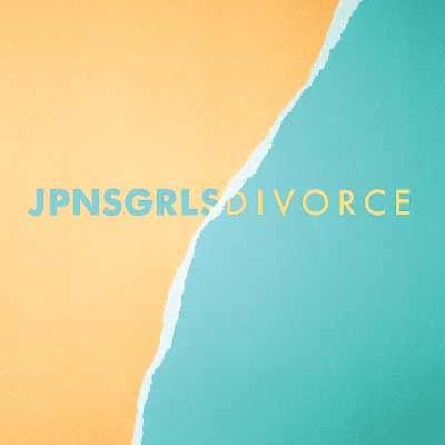 The album art for JPNSGRLS' Divorce