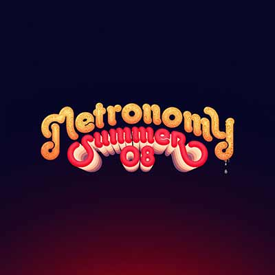 The album art for Metronomy's Summer 08