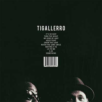 The album art for Phonte & Eric Roberson's Tigallero
