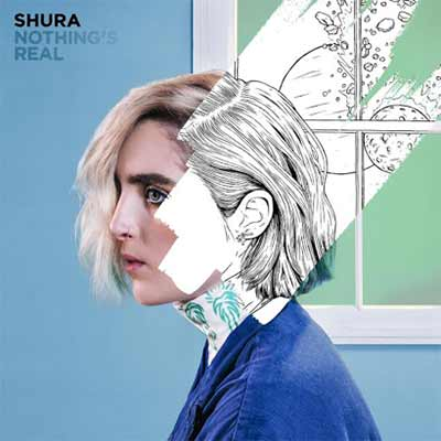 The album art for Shura's Nothing's Real