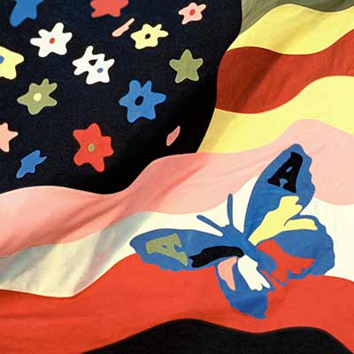 The album art for The Avalanches' Wildflower