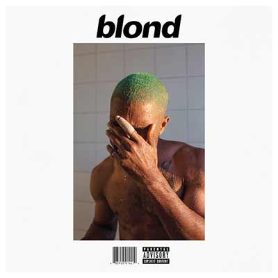 The album art for Frank Ocean's Blonde