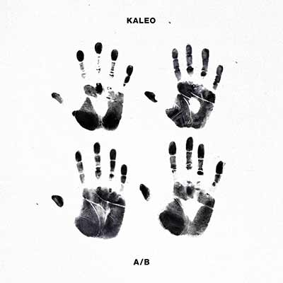 The album art for Kaleo's A/B