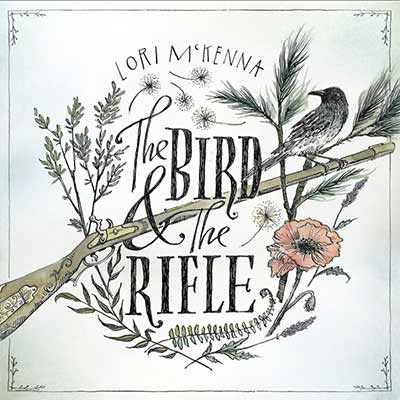 The album art for Lori McKenna's The Bird & the Rifle