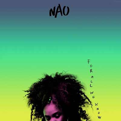 The album art for NAO's debut record, For All We Know