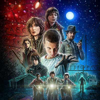 The album art for Netflix's Stranger Things