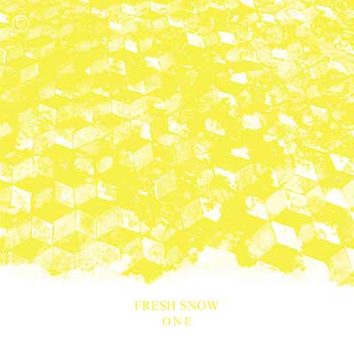 The album art for Fresh Snow's One