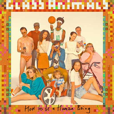 The album art for Glass Animals' How to Be a Human Being