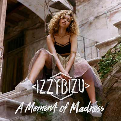 The album art for Izzy Bizu's A Moment of Madness