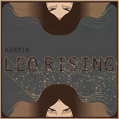 The album art for Karmin's Leo Rising