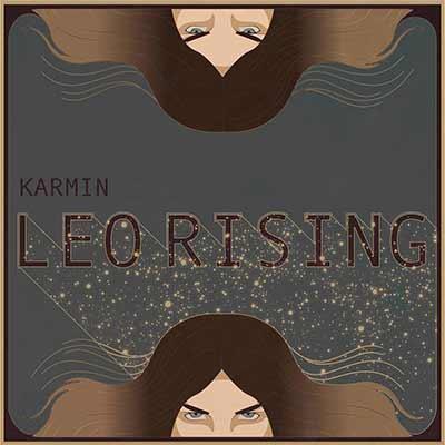 The album art for Karmin's Leo Rising