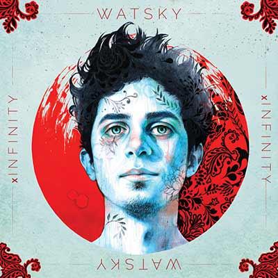 The album art for Watsky's x Infinity