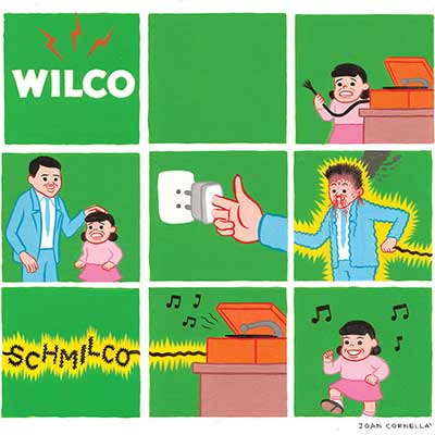 The album art for Wilco's Schmilco