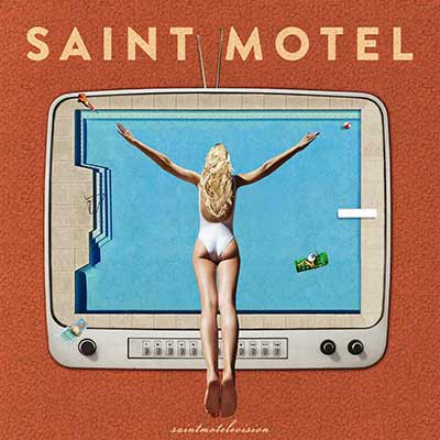 The album art for Saint Motel's saintmotelivision