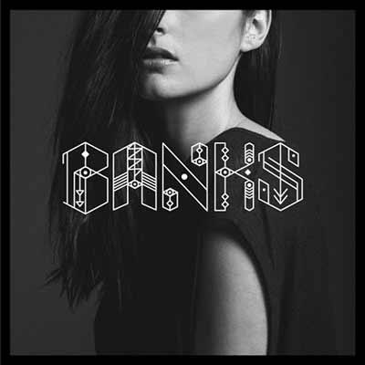 The album art for BANKS' London EP
