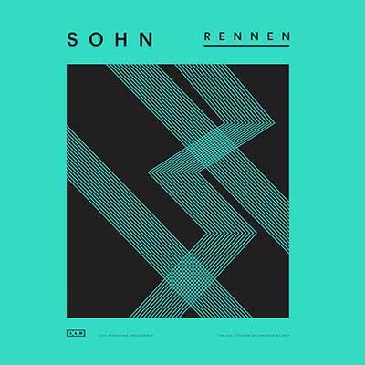 The album art for SOHN's Rennen