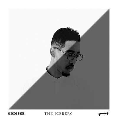 The album art for Oddisee's The Iceberg