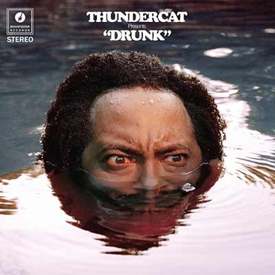 The album art for Thundercat's Drunk